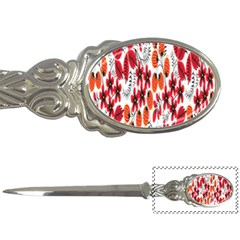 Rose Flower Red Orange Letter Openers by AnjaniArt