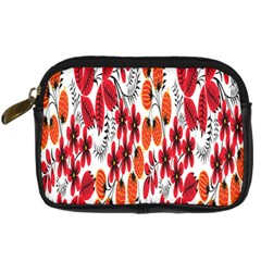 Rose Flower Red Orange Digital Camera Cases by AnjaniArt
