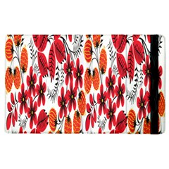 Rose Flower Red Orange Apple Ipad 2 Flip Case by AnjaniArt