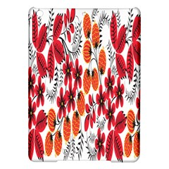 Rose Flower Red Orange Ipad Air Hardshell Cases by AnjaniArt
