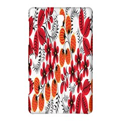 Rose Flower Red Orange Samsung Galaxy Tab S (8 4 ) Hardshell Case  by AnjaniArt