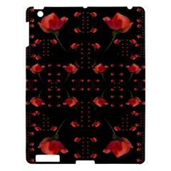Roses From The Fantasy Garden Apple Ipad 3/4 Hardshell Case by pepitasart