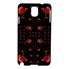 Roses From The Fantasy Garden Samsung Galaxy Note 3 N9005 Hardshell Case by pepitasart