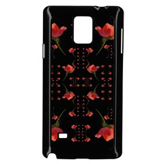 Roses From The Fantasy Garden Samsung Galaxy Note 4 Case (black) by pepitasart
