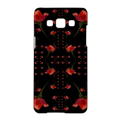 Roses From The Fantasy Garden Samsung Galaxy A5 Hardshell Case  by pepitasart