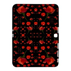 Pumkins And Roses From The Fantasy Garden Samsung Galaxy Tab 4 (10 1 ) Hardshell Case  by pepitasart