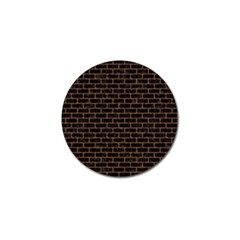 Brick1 Black Marble & Rusted Metal (r) Golf Ball Marker (4 Pack) by trendistuff