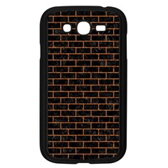 Brick1 Black Marble & Rusted Metal (r) Samsung Galaxy Grand Duos I9082 Case (black) by trendistuff