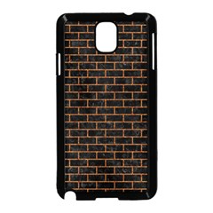 Brick1 Black Marble & Rusted Metal (r) Samsung Galaxy Note 3 Neo Hardshell Case (black) by trendistuff