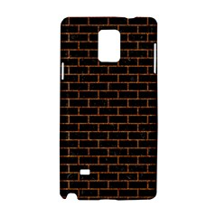Brick1 Black Marble & Rusted Metal (r) Samsung Galaxy Note 4 Hardshell Case by trendistuff