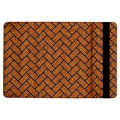 Brick2 Black Marble & Rusted Metal Ipad Air Flip by trendistuff