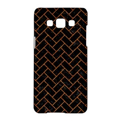 Brick2 Black Marble & Rusted Metal (r) Samsung Galaxy A5 Hardshell Case  by trendistuff