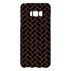 Brick2 Black Marble & Rusted Metal (r) Samsung Galaxy S8 Plus Hardshell Case  by trendistuff