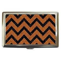 Chevron9 Black Marble & Rusted Metal Cigarette Money Cases by trendistuff