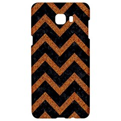 Chevron9 Black Marble & Rusted Metal (r) Samsung C9 Pro Hardshell Case  by trendistuff