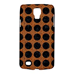 Circles1 Black Marble & Rusted Metal Galaxy S4 Active by trendistuff