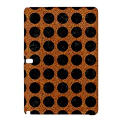 Circles1 Black Marble & Rusted Metal Samsung Galaxy Tab Pro 12 2 Hardshell Case by trendistuff