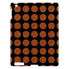 Circles1 Black Marble & Rusted Metal (r) Apple Ipad 3/4 Hardshell Case by trendistuff