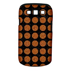CIRCLES1 BLACK MARBLE & RUSTED METAL (R) Samsung Galaxy S III Classic Hardshell Case (PC+Silicone)