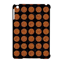 CIRCLES1 BLACK MARBLE & RUSTED METAL (R) Apple iPad Mini Hardshell Case (Compatible with Smart Cover)