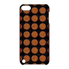 CIRCLES1 BLACK MARBLE & RUSTED METAL (R) Apple iPod Touch 5 Hardshell Case with Stand