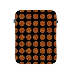 Circles1 Black Marble & Rusted Metal (r) Apple Ipad 2/3/4 Protective Soft Cases