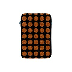 CIRCLES1 BLACK MARBLE & RUSTED METAL (R) Apple iPad Mini Protective Soft Cases