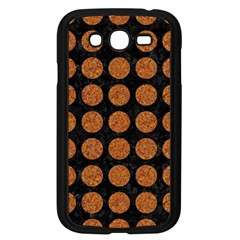 CIRCLES1 BLACK MARBLE & RUSTED METAL (R) Samsung Galaxy Grand DUOS I9082 Case (Black)