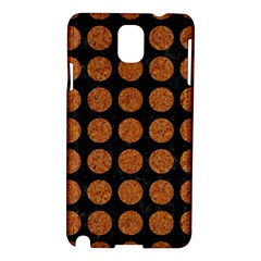 Circles1 Black Marble & Rusted Metal (r) Samsung Galaxy Note 3 N9005 Hardshell Case by trendistuff