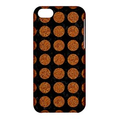 CIRCLES1 BLACK MARBLE & RUSTED METAL (R) Apple iPhone 5C Hardshell Case