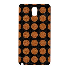 CIRCLES1 BLACK MARBLE & RUSTED METAL (R) Samsung Galaxy Note 3 N9005 Hardshell Back Case