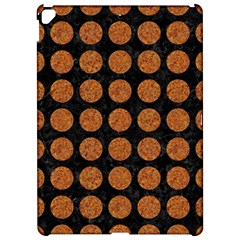 Circles1 Black Marble & Rusted Metal (r) Apple Ipad Pro 12 9   Hardshell Case by trendistuff