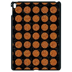 Circles1 Black Marble & Rusted Metal (r) Apple Ipad Pro 9 7   Black Seamless Case by trendistuff