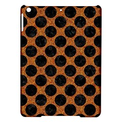 Circles2 Black Marble & Rusted Metal Ipad Air Hardshell Cases by trendistuff