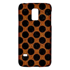 Circles2 Black Marble & Rusted Metal Galaxy S5 Mini by trendistuff