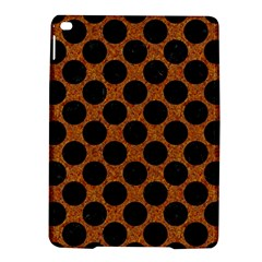 Circles2 Black Marble & Rusted Metal Ipad Air 2 Hardshell Cases