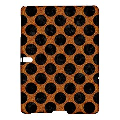 Circles2 Black Marble & Rusted Metal Samsung Galaxy Tab S (10 5 ) Hardshell Case