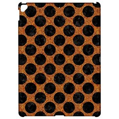 Circles2 Black Marble & Rusted Metal Apple Ipad Pro 12 9   Hardshell Case by trendistuff
