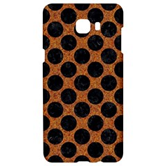 Circles2 Black Marble & Rusted Metal Samsung C9 Pro Hardshell Case  by trendistuff