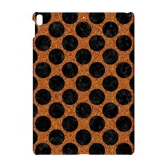 Circles2 Black Marble & Rusted Metal Apple Ipad Pro 10 5   Hardshell Case by trendistuff