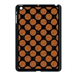 CIRCLES2 BLACK MARBLE & RUSTED METAL (R) Apple iPad Mini Case (Black) Front