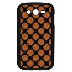 CIRCLES2 BLACK MARBLE & RUSTED METAL (R) Samsung Galaxy Grand DUOS I9082 Case (Black)