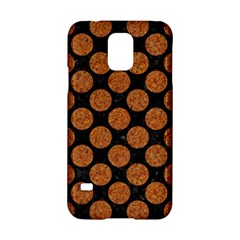 CIRCLES2 BLACK MARBLE & RUSTED METAL (R) Samsung Galaxy S5 Hardshell Case