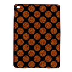 CIRCLES2 BLACK MARBLE & RUSTED METAL (R) iPad Air 2 Hardshell Cases
