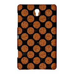 Circles2 Black Marble & Rusted Metal (r) Samsung Galaxy Tab S (8 4 ) Hardshell Case  by trendistuff