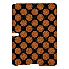 Circles2 Black Marble & Rusted Metal (r) Samsung Galaxy Tab S (10 5 ) Hardshell Case  by trendistuff