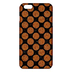 CIRCLES2 BLACK MARBLE & RUSTED METAL (R) iPhone 6 Plus/6S Plus TPU Case