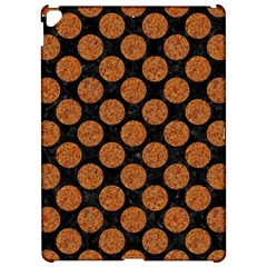 Circles2 Black Marble & Rusted Metal (r) Apple Ipad Pro 12 9   Hardshell Case by trendistuff