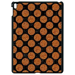 Circles2 Black Marble & Rusted Metal (r) Apple Ipad Pro 9 7   Black Seamless Case by trendistuff