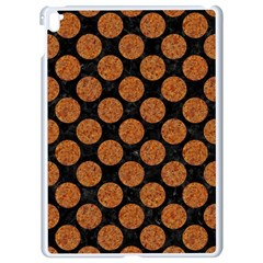 Circles2 Black Marble & Rusted Metal (r) Apple Ipad Pro 9 7   White Seamless Case by trendistuff